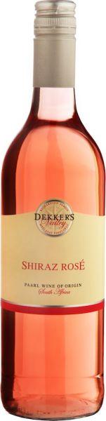 Dekker's Valley Shiraz Rosé 2015